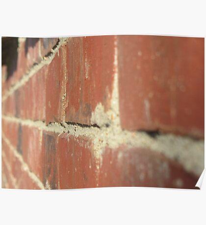 Wall of Bricks Poster