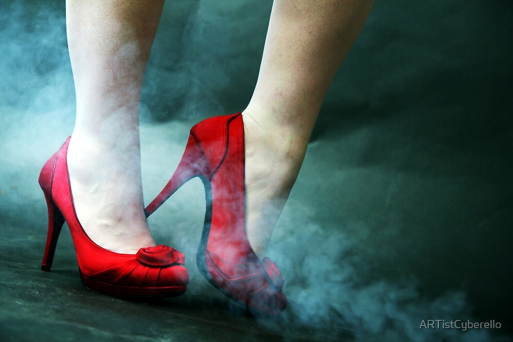 red shoes II by ARTistCyberello