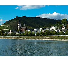 Bopad on the Rhein - Germany  Photographic Print