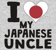 I Heart My Japanese Uncle One Piece - Long Sleeve