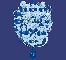 11 Doctors In The Sky Unisex T-Shirt