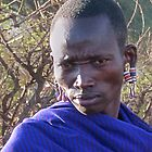 Maasai Warrior by Linda Sparks