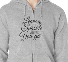 Sparkle! Zipped Hoodie