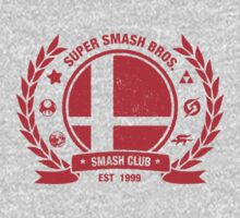 Smash Club (Red) One Piece - Short Sleeve