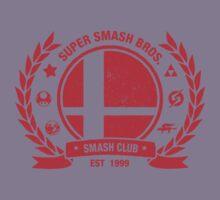 Smash Club (Red) Kids Tee