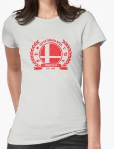 Smash Club (Red) Womens T-Shirt