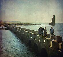 Over the bridge by rentedochan