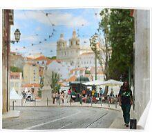 Ruas de Lisboa Poster