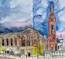 Triple Kirks, Aberdeen by Mike Crawford