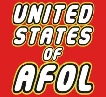 UNITED STATES OF AFOL by Customize My Minifig by ChilleeW