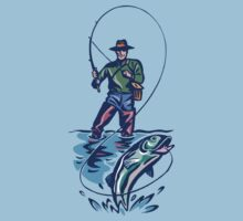Let's Go Fishing T-Shirt Kids Clothes