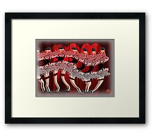 Beat me daddy eight to the bar Framed Print