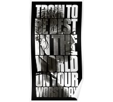 Train to be best in the world Poster