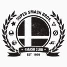 Smash Club (Black) by Bryant Almonte Design