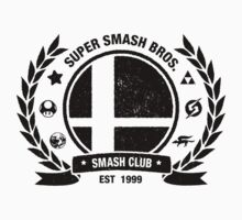 Smash Club (Black) T-Shirt