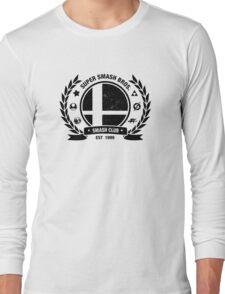 Smash Club (Black) Long Sleeve T-Shirt