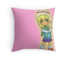Cute Chibi Throw Pillow