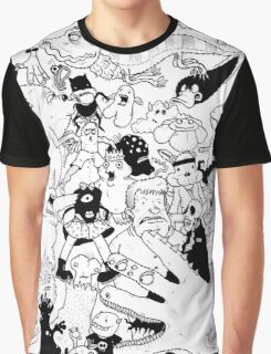George Clarke - Characters Sept15 Graphic T-Shirt