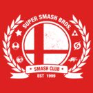 Smash Club (White) by Bryant Almonte Design