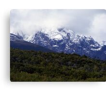 Fading Into The Clouds Canvas Print
