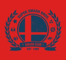 Smash Club (Blue) One Piece - Short Sleeve