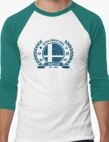 Smash Club (Blue) Men's Baseball ¾ T-Shirt