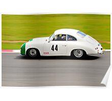 Porsche 356 No 44 Poster