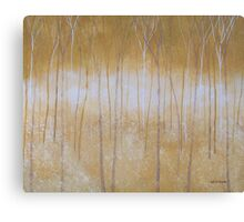 Ochre Forest Canvas Print