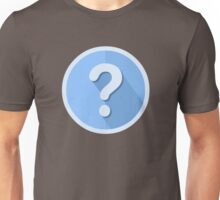 Question Mark Icon Unisex T-Shirt