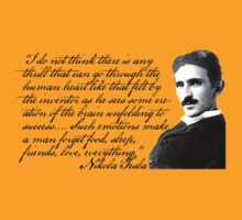 Nikola Tesla on Invention by FrankenGeek