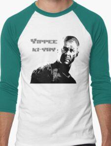 Yippee-ki-yay Men's Baseball ¾ T-Shirt