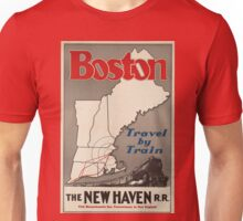Vintage poster - Boston Unisex T-Shirt