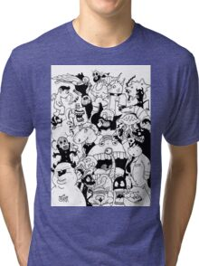 George Clarke - Characters Oct15 Tri-blend T-Shirt