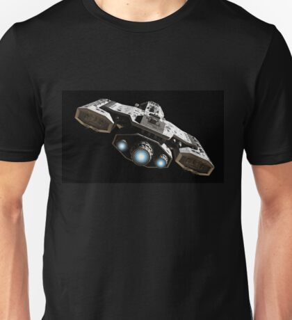 Blue Engine Glow Unisex T-Shirt