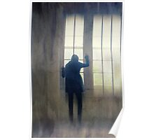 Silhouette woman Poster
