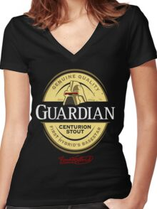 Centurion Stout! (Battlestar Galactica) Women's Fitted V-Neck T-Shirt