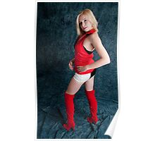Red boots Poster