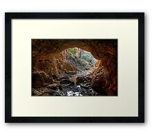 Golden Gully. Framed Print