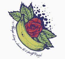 Party Banana One Piece - Short Sleeve