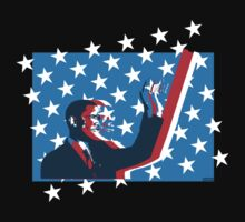 Obama flag by Chrome Clothing