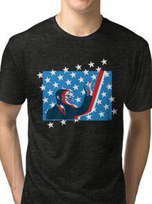 Obama flag Tri-blend T-Shirt