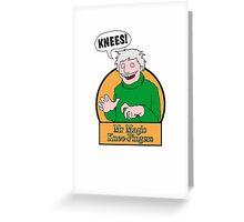 Mr Magic Knee-Fingers! Greeting Card