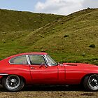 E-Type Jaguar. British Icon. by Matthew Walters
