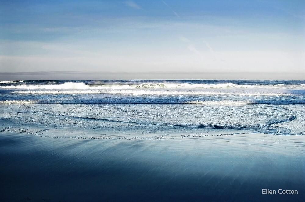 Crystal Blue Morning by Ellen Cotton