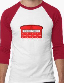 The question isn't where... Men's Baseball ¾ T-Shirt