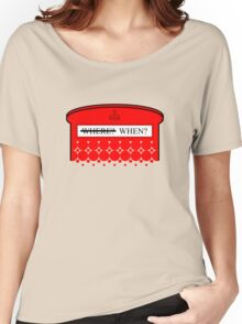 The question isn't where... Women's Relaxed Fit T-Shirt