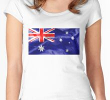 Australia Flag Women's Fitted Scoop T-Shirt