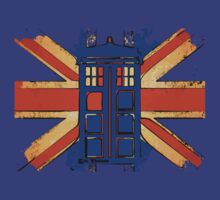 Dr Who - The Tardis - Vintage Jack T-Shirt