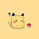 Pikachu Pokeball by dtdream