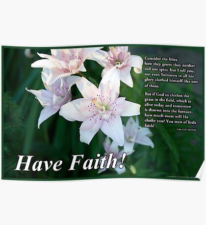 Have Faith Poster